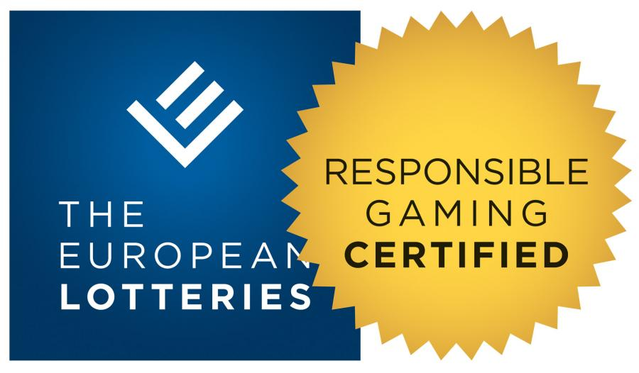 Certyfikat Odpowiedzialnej Gry przyznawany przez European Lotteries and Toto Association