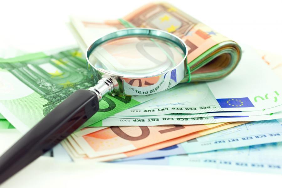 euro, waluty, lupa, finanse