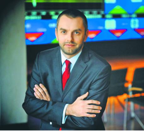 Michał Kobza z działu analiz, strategii i rozwoju GPW