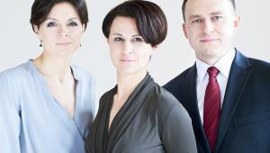 Paulina Kieszkowska-Knapik, Ewa Rutkowska, Marcin Kolasiński.