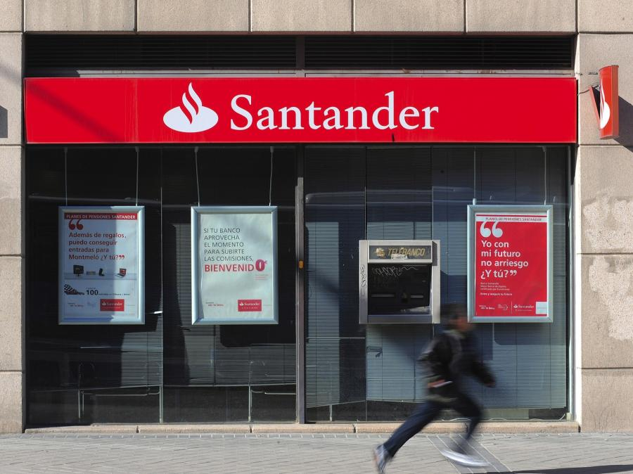 Placówka Banco Santander w Madrycie