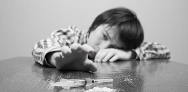 narkotyki, dziecko