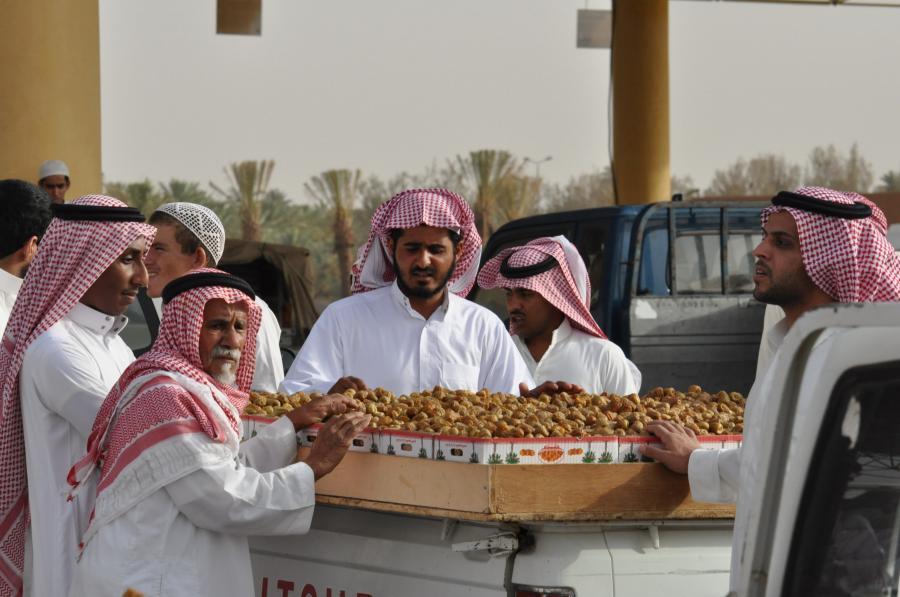 Pracownicy w Arabii Saudyjskiej