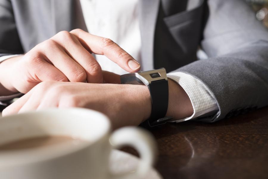 smartwatch, praca