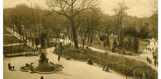 Lwów, Park Kościuszki we Lwowie (1913-1914), domena publiczna / Wikimedia Commons