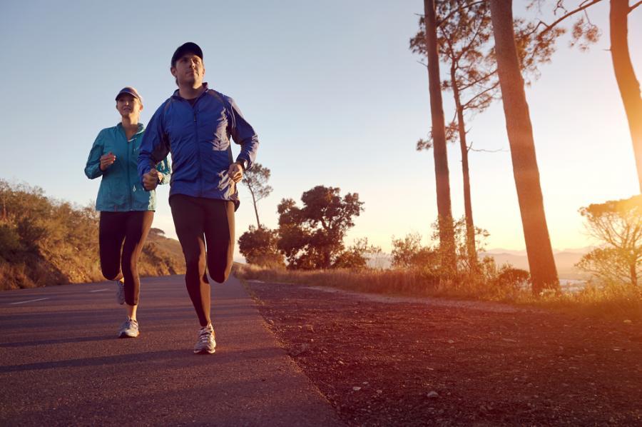 ćwiczenia, bieganie, sport