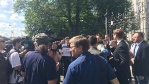Protest adwokatów / fot. Anna Krzyżanowska-Prawnik.pl