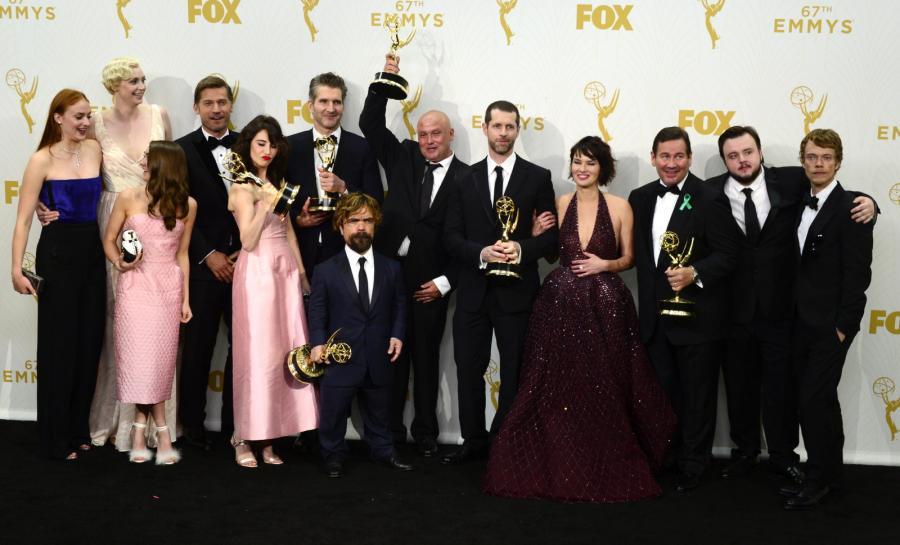 Emmy 2015: Obsada Gry o Tron
