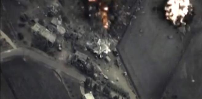 Rosyjski atak w Syrii