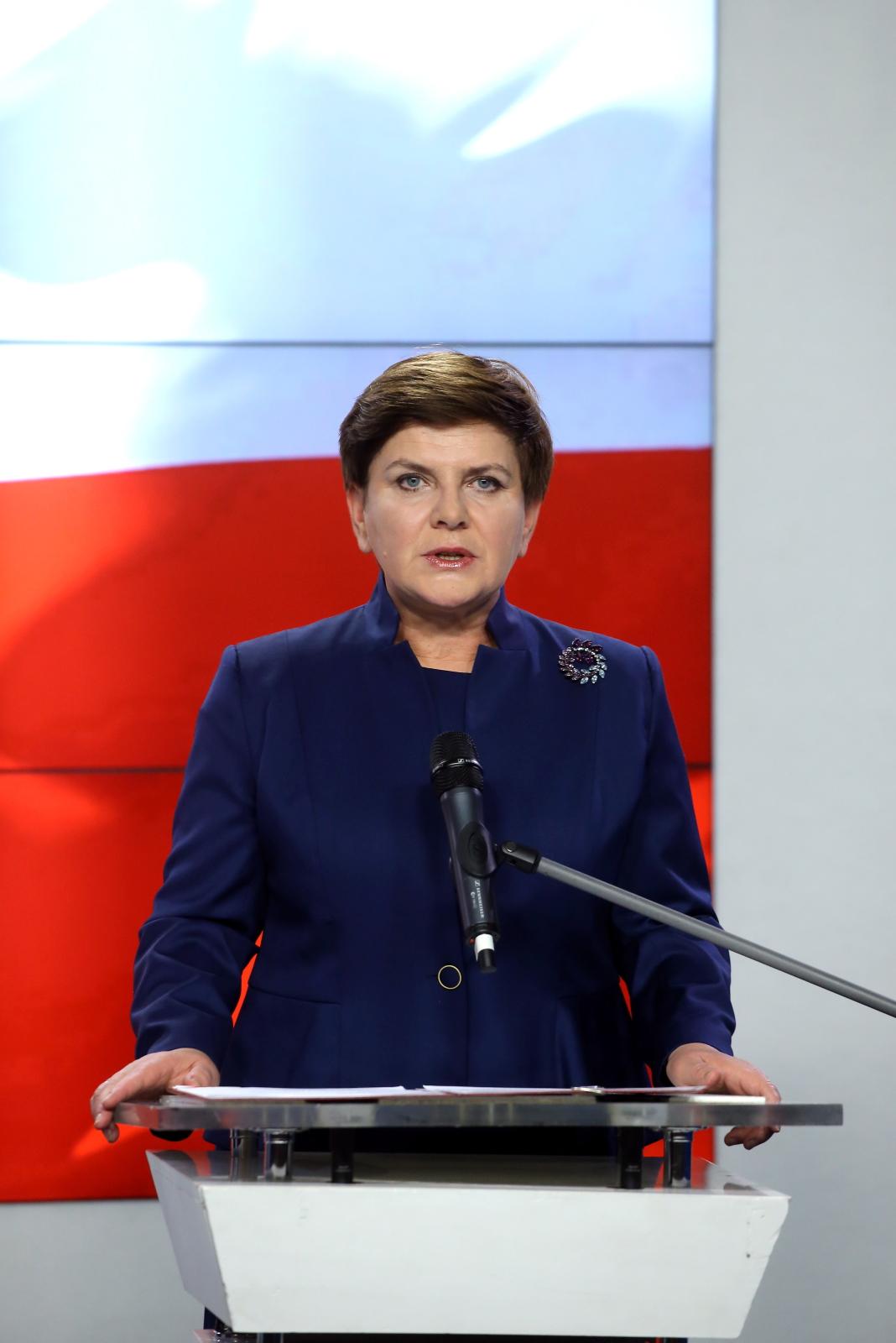 Kandydatka na premiera Beata Szydło, PAP/Paweł Supernak