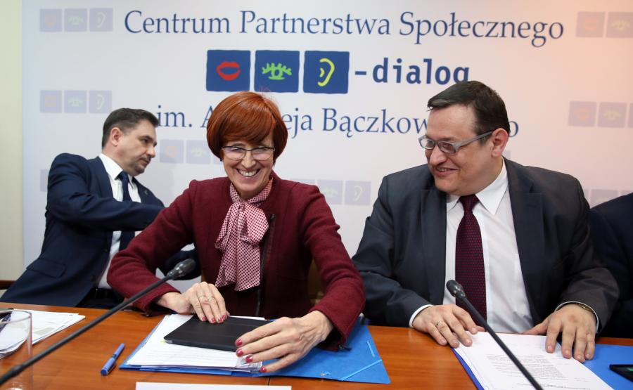 Piotr Duda, Elżbieta Rafalska, Jacek Męcina, PAP/Tomasz Gzell