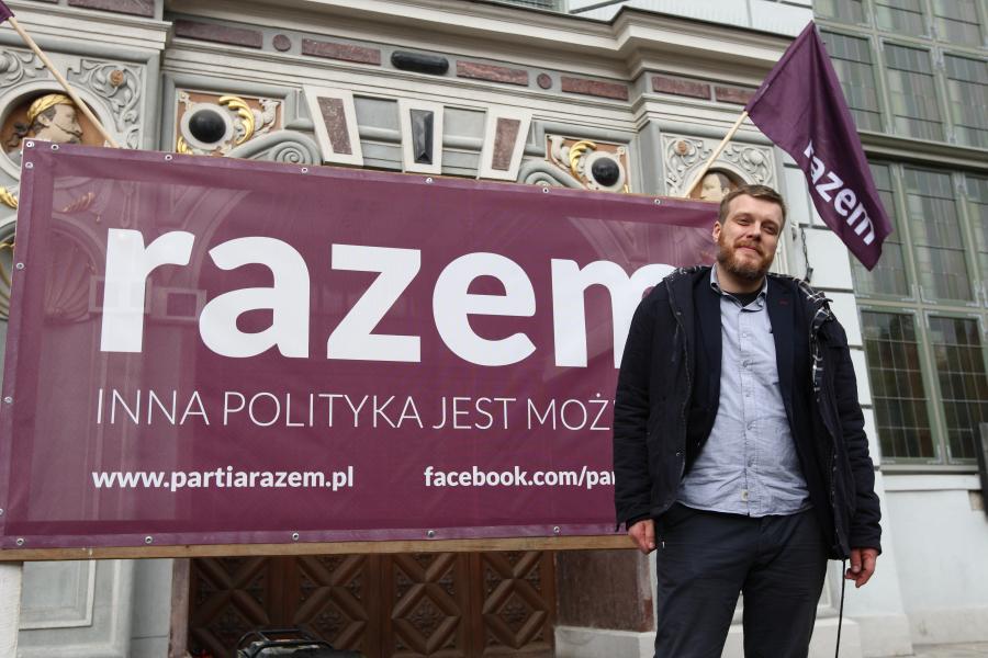Adrian Zandberg Paria Razem