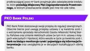 Oficjalne stanowiska banków