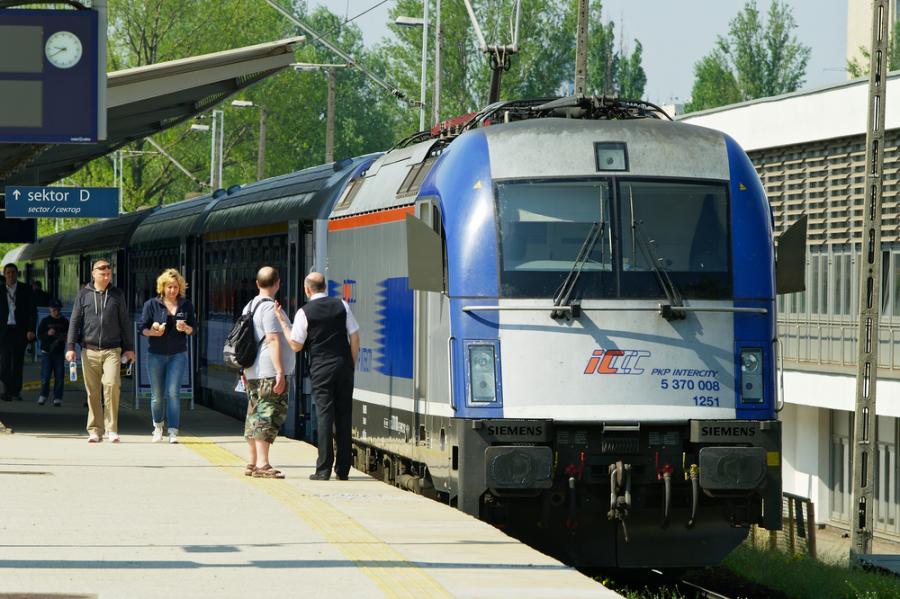 pociąg, kolej, transport