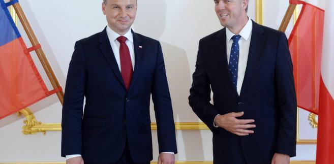 Andrzej Duda z wizytą na Słowacji