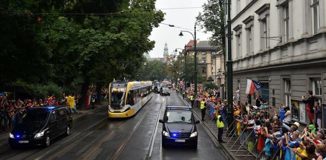 Krakowiak Pesy, czyli tramwaj papieski podczas ŚDM