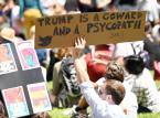 USA: W Waszyngtonie nowe starcia policji z demonstrantami