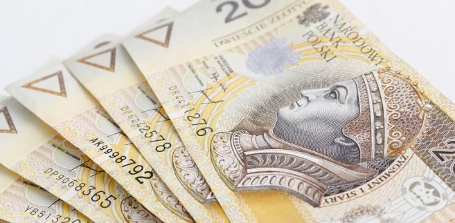 Złoty słabnie wobec głównych walut