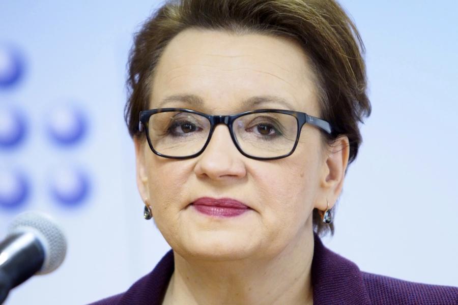 Minister edukacji narodowej Anna Zalewska, PAP/Michał Szalast