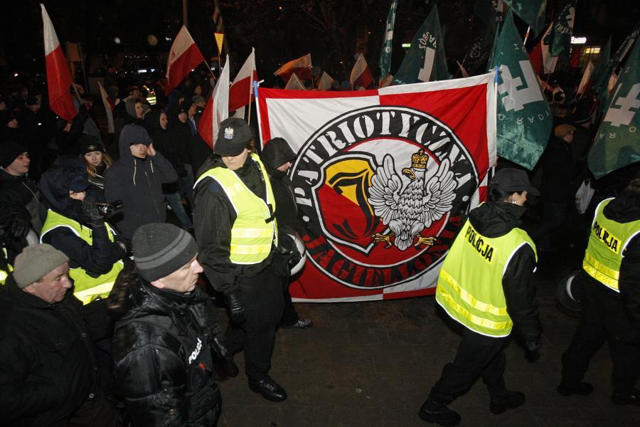 II Hajnowski Marsz Żołnierzy Wyklętych, zorganizowany między innymi przez ONR przeszedł ulicami Hajnówki