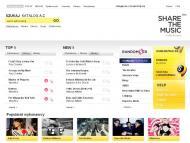 Portal ShareTheMusic.com do słuchania muzyki online podbija świat