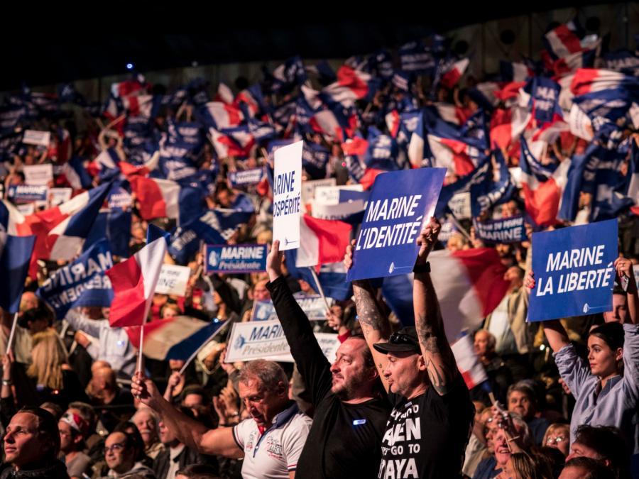 wybory we Francji Marine Le Pen