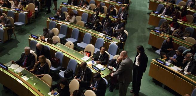 """Rosja """"nie zgadza się"""" z propozycją USA - poinformowały źródła dyplomatyczne, na które powołuje się Reuters. Moskwa zamierza przedstawić projekty dwóch rezolucji w sprawie nowego śledztwa dotyczącego ataku chemicznego."""