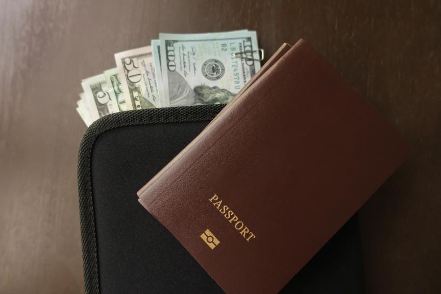 pieniądze podróż