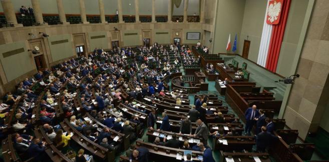 W Sejmie odbywa się we wtorek pierwsze czytanie projektu PiS ustawy o Sądzie Najwyższym.