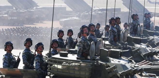 Parada wojskowa w Chinach