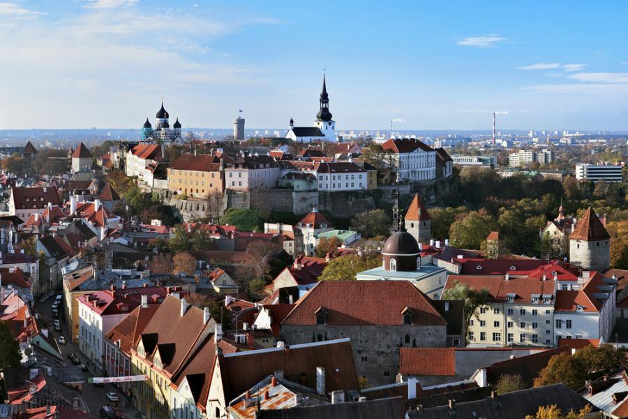 Tallin, stolica Estonii. Fot. Shutterstock.