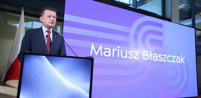 Wiceprezes PiS, szef MSWiA Mariusz Błaszczak