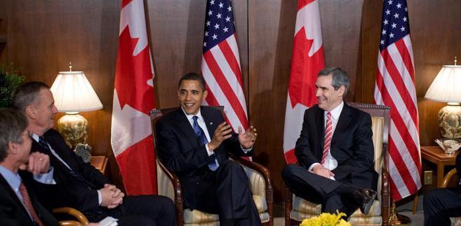 Ignatieff i Obama 2009