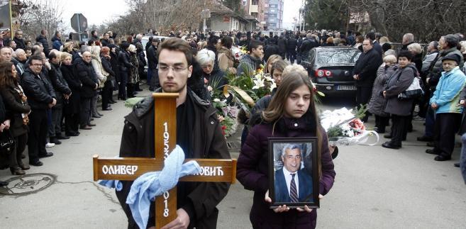 Oliver Ivanović został zamordowany w Mitrowicy na północy Kosowa