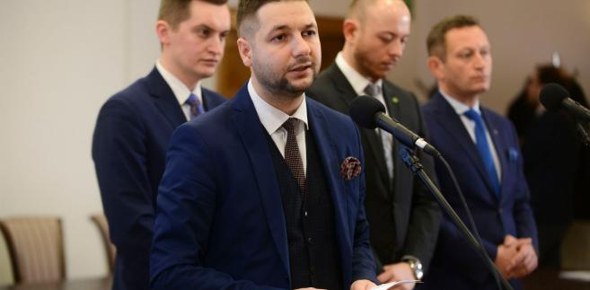 Wiceminister Patryk Jaki