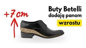 Buty podwyższające Betelli