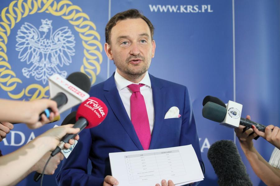 Rzecznik prasowy Krajowej Rady Sądownictwa Maciej Mitera