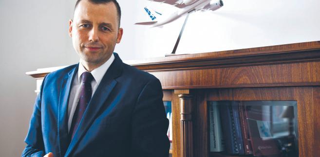 Mikołaj Wild, wiceminister infrastruktury, pełnomocnik rządu ds. CPK, fot. Wojtek Górski