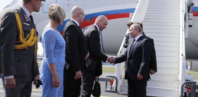 Prezydent Władimir Putin w Helsinkach