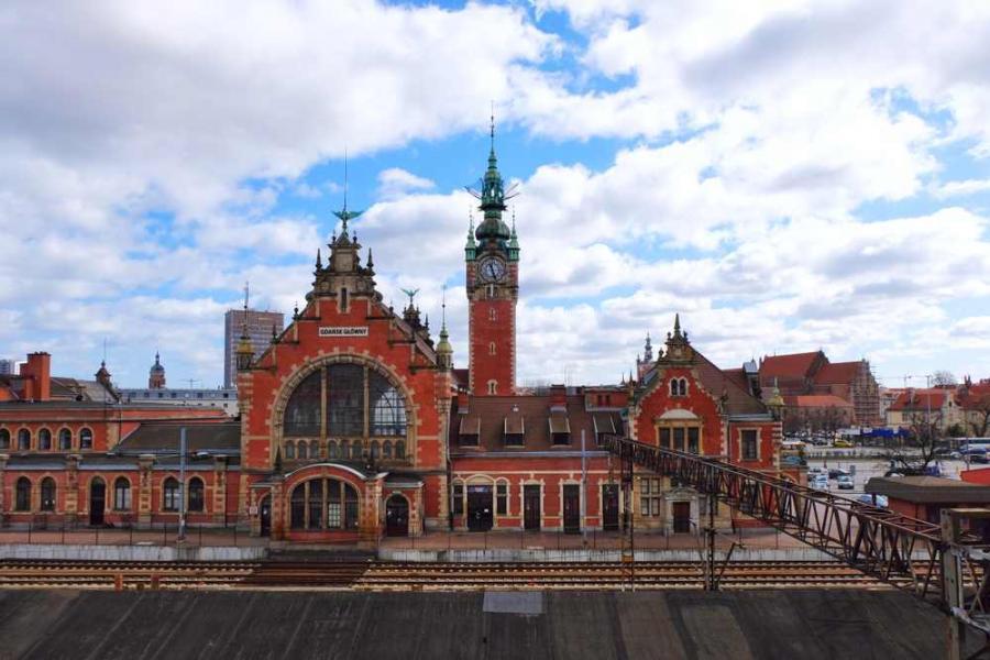Gdańsk Dworzec Główny fot. ekarin