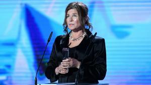 Aktorka Grażyna Błęcka-Kolska nagrodzona za pierwszoplanową rolę żeńską w filmie Ułaskawienie.