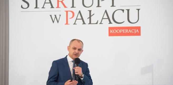 Mariusz Golec, prezes firmy Wielton