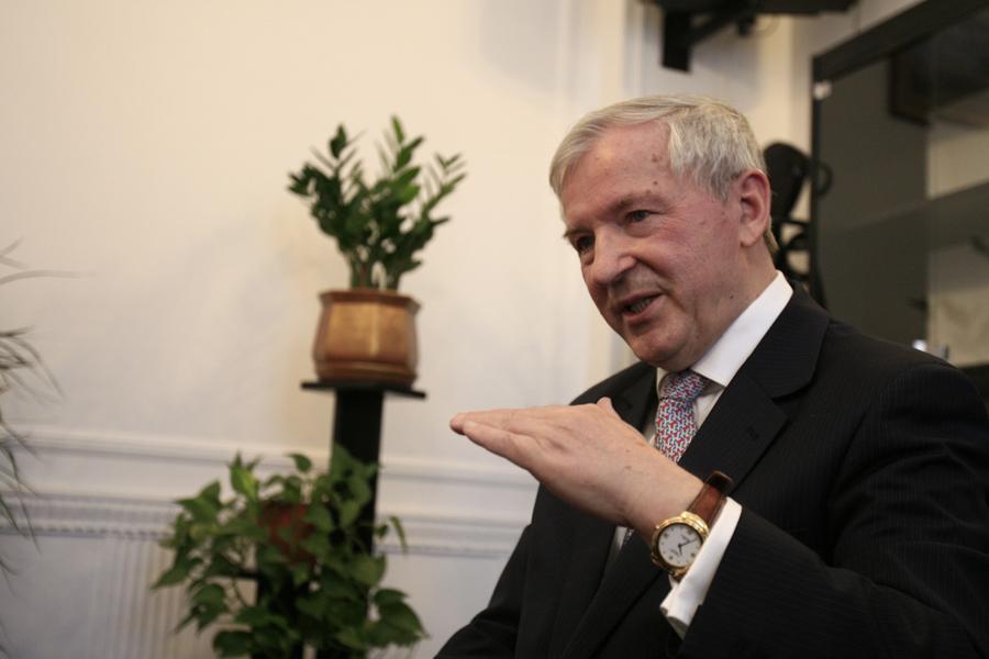 Główny ekonomista BCC prof. Stanisław Gomułka.