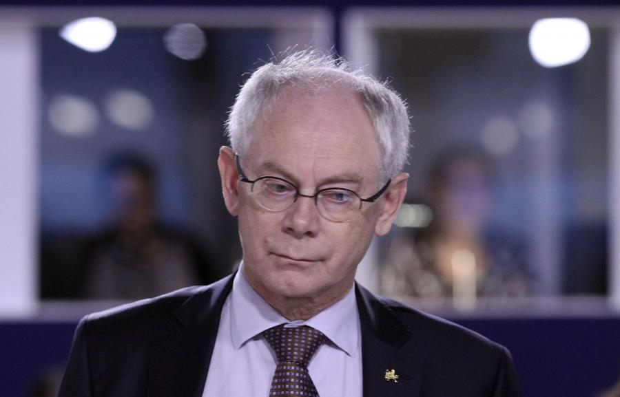Szef Rady Europejskiej Herman Van Rompuy