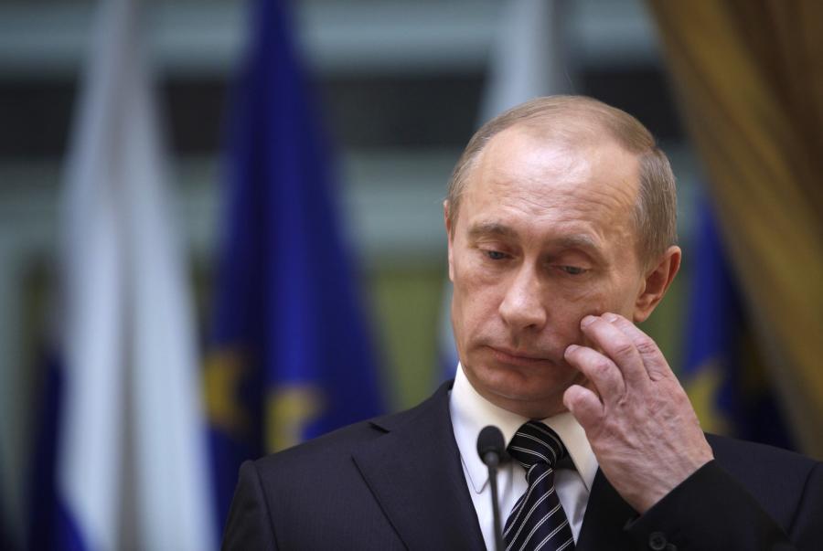 Premier Rosji Władimir Putin ma powody do zmartwień...