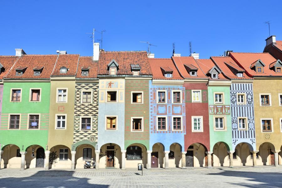 Stary Rynek, kamienice, Poznań