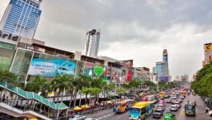 Centrum handlowe w Bangkoku. Fot.iStock