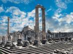 Ruiny świątyni Apollina w pobliżu tureckiego Side.