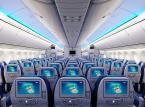 Tak będzie wyglądała kabina klasy ekonomicznej na pokładzie samolotu Boeing 787 należącego do Polskich Linii Lotniczych LOT.